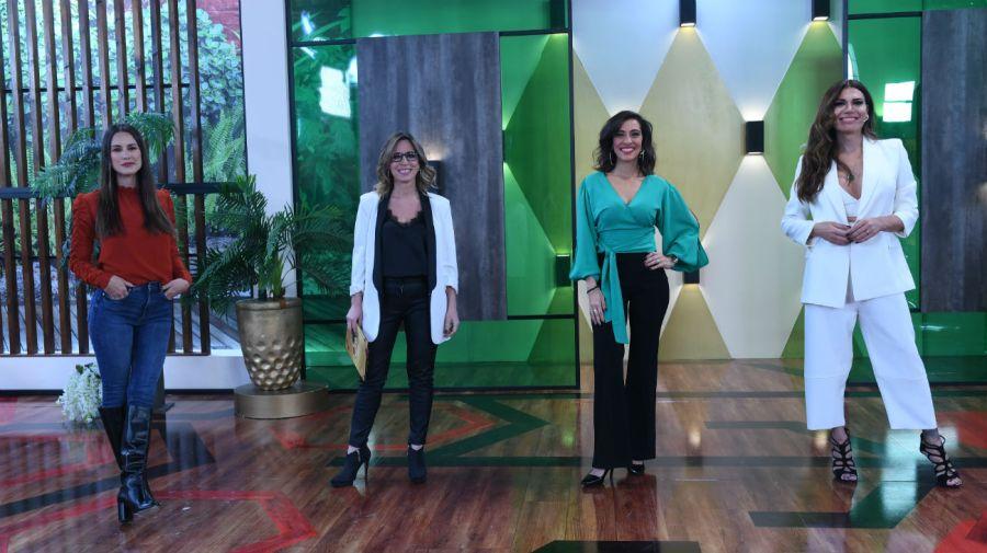 Luli Fernandez, Sandra Borghi, Roxy Vazquez y Flor de la V
