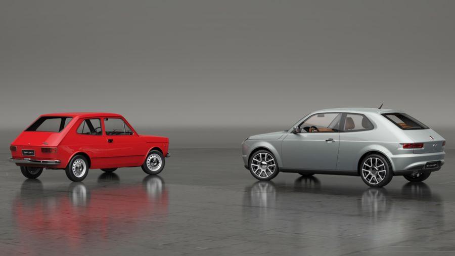 Fiat 147 o 127 Concept
