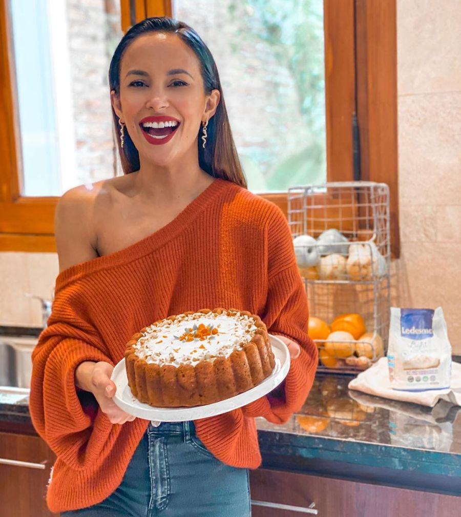 Lourdes Sánchez cocinó Carrot Cake