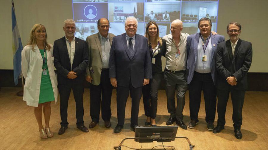 Febrero 2020. Ginés González García presentaba al nuevo Consejo Administrativo del Garrahan.