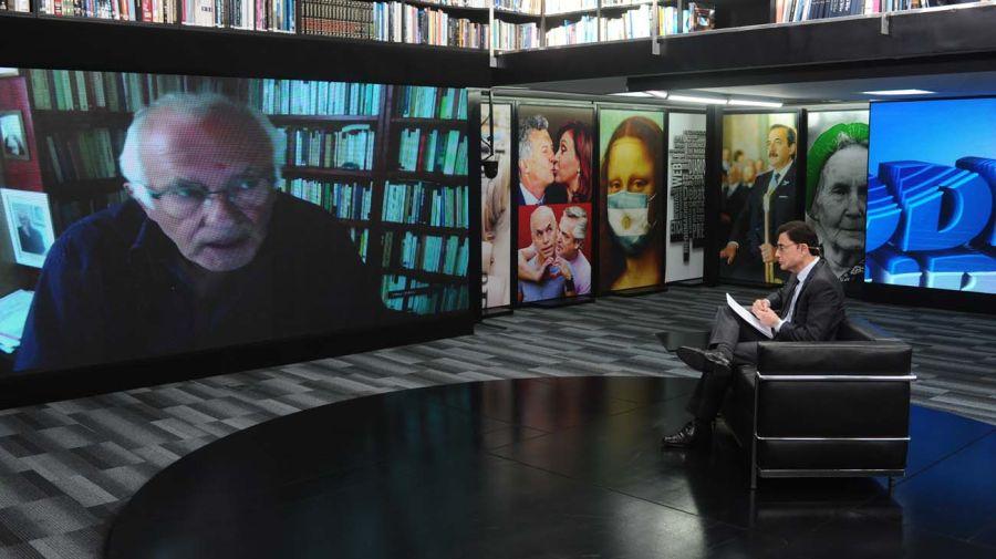 Francois Dubet, en la entrevista con Jorge Fontevecchia.