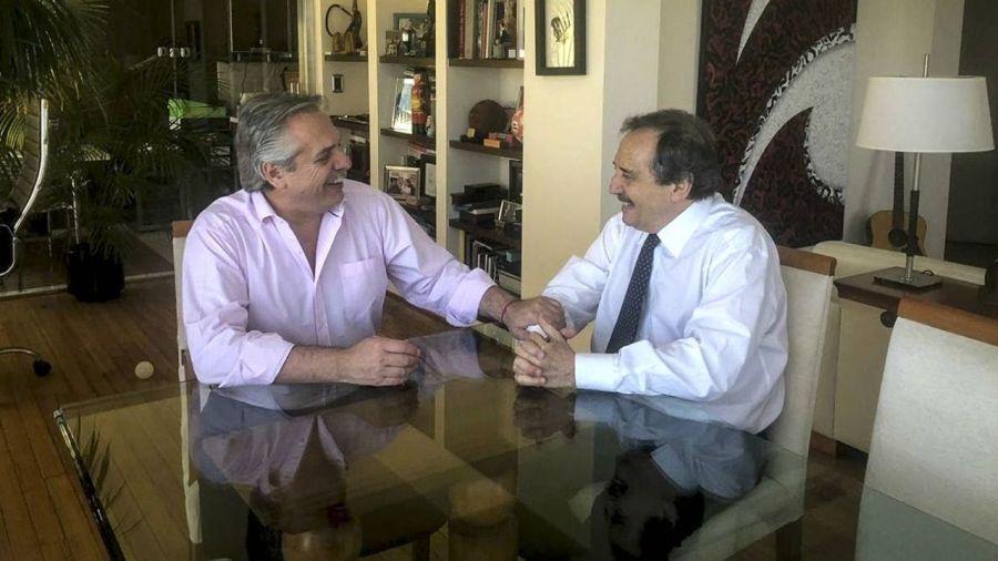 Alberto Fernández y Ricardo Alfonsín