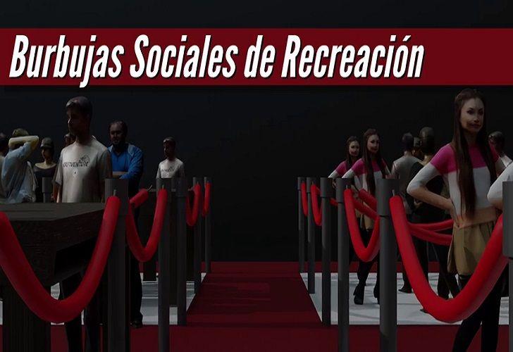 Burbujas de recreacion