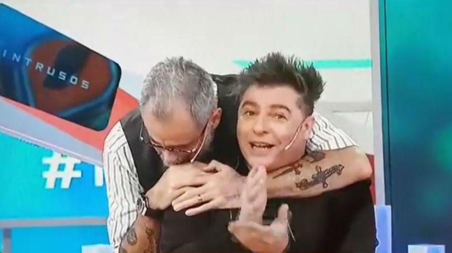 Daniel Ambrosino y Jorge Rial