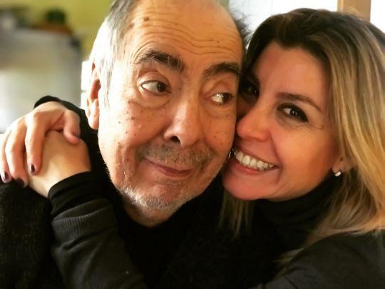 Fernando Suárez Paz y su hija