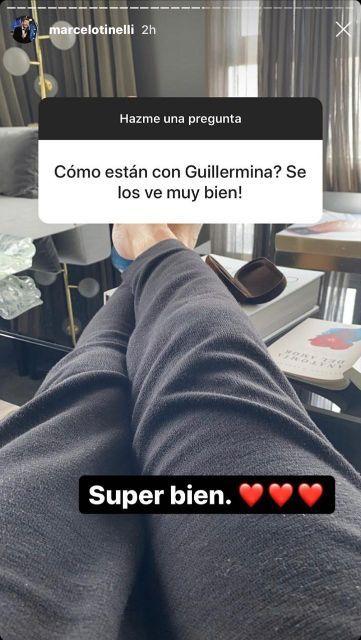 Marcelo Tinelli habló de su vínculo con Guillermina Valdés