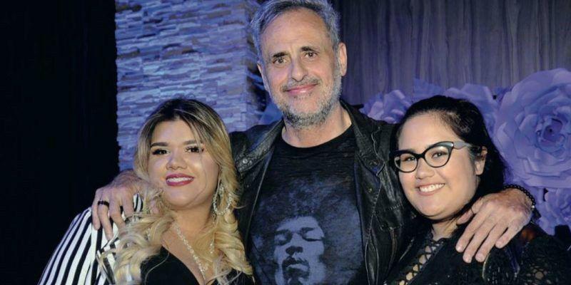 Jorge Rial retó a sus hijas por no usar barbijo