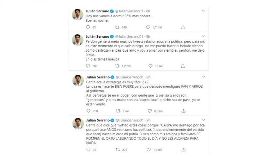 Julian Serrano contra el cepo al dólar