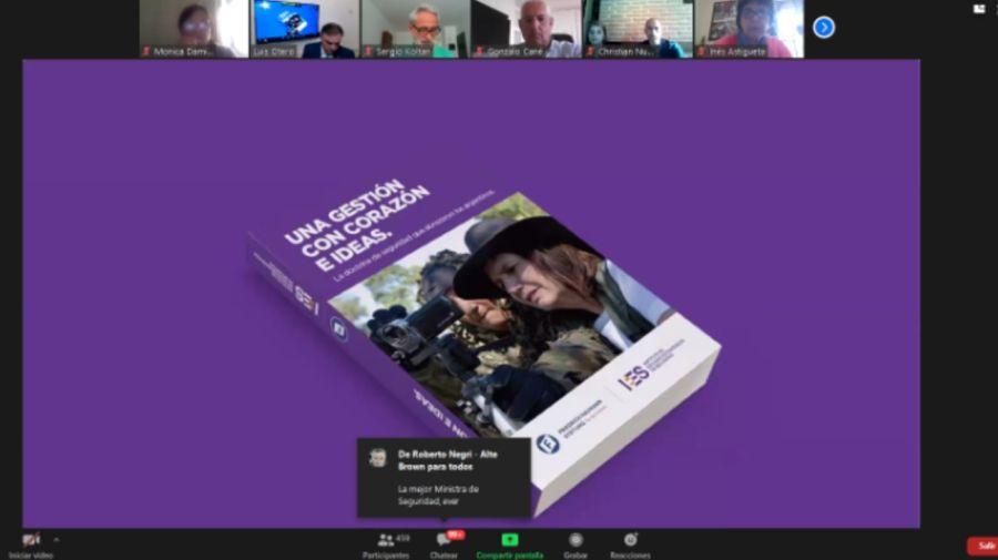 Patricia Bullrich libro gestion 20200916