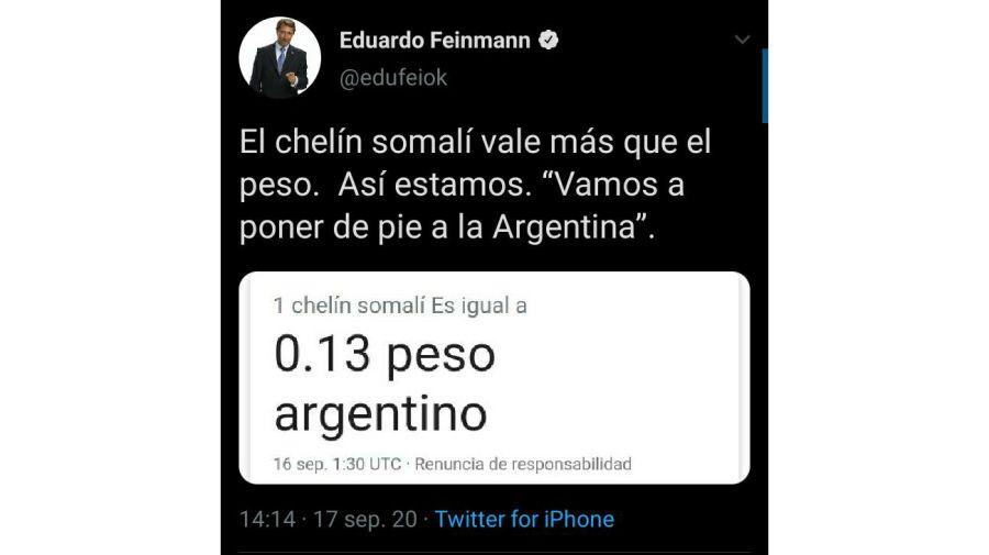 eduardo feinmann error 0918
