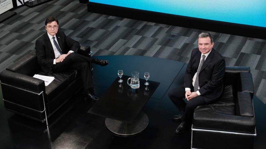 Javier Madanes Quintanilla, en la entrevista con Jorge Fontevecchia.