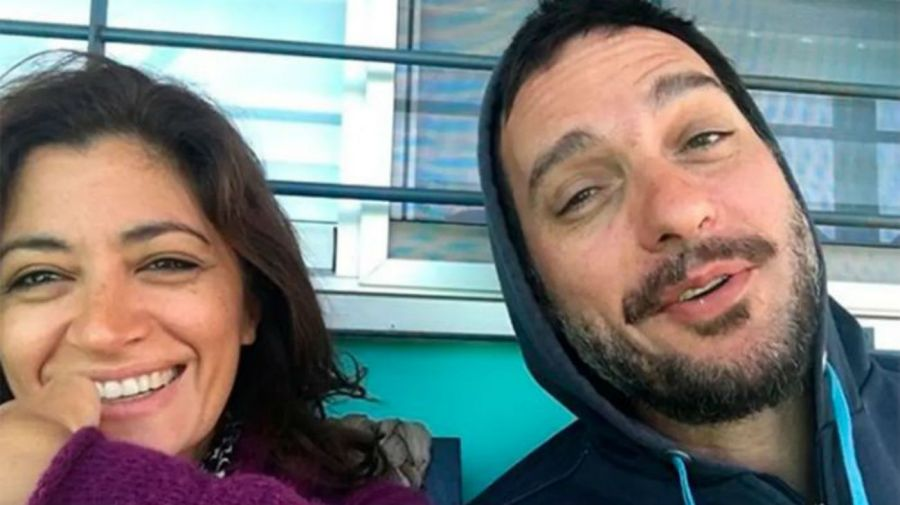 Carla Conte y Federico Rozas