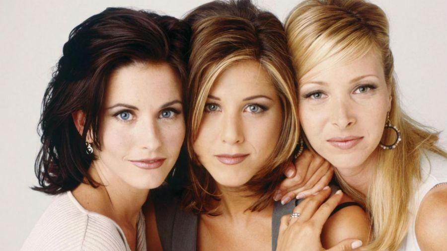 Courteney Cox, Jennifer Aniston y Lisa Kudrow