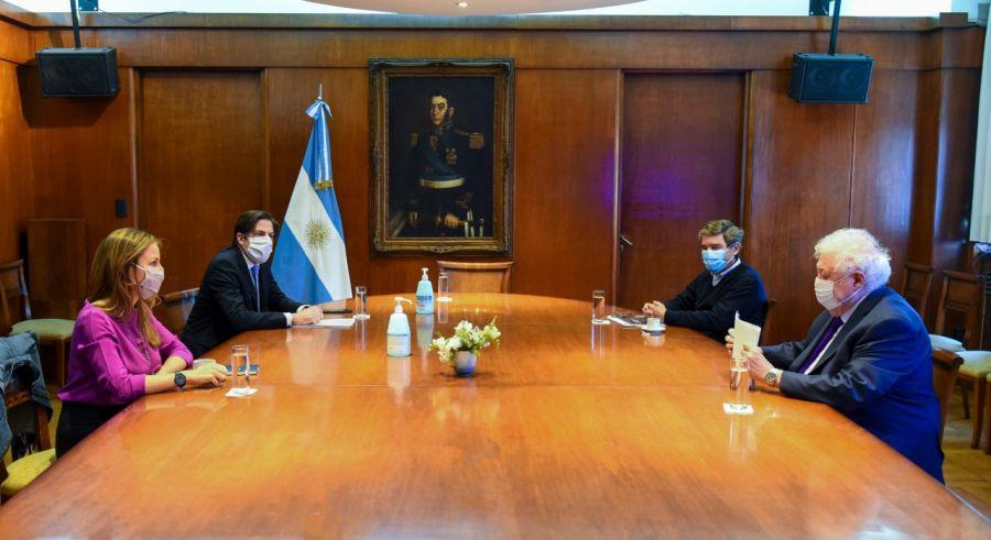 reunión Acuña Trotta Quirós Ginés