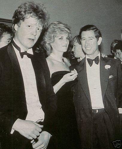 Lady Di junto a su hermano y su marido