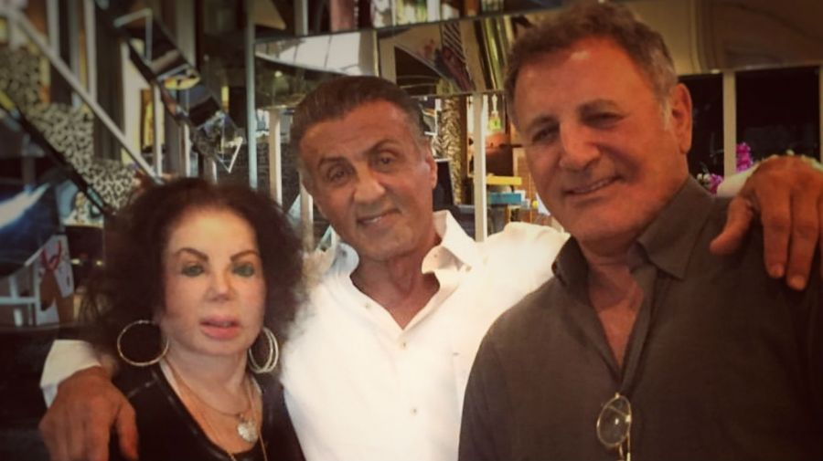 Jackie Stallone, Sly y Frank