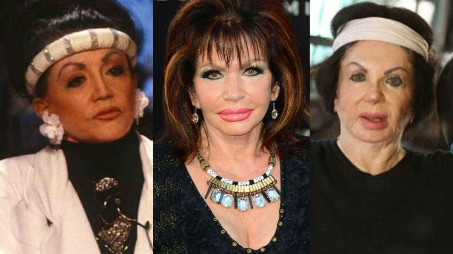 Jackie Stallone antes y después