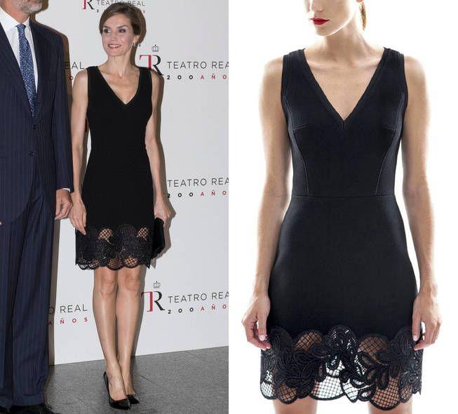 Reina Letizia: el diseñador que la viste, liquida varios de sus vestidos más memorables
