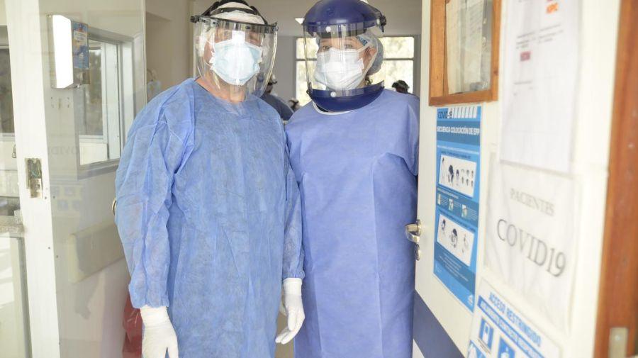 UTI Covid-19 Hospital Posadas / Todas las discplinas médicas para salvar vidas.
