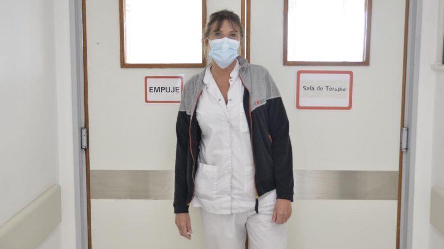 Contanza Arias, Jefa de Terapia Intensiva del Hospital Posadas.