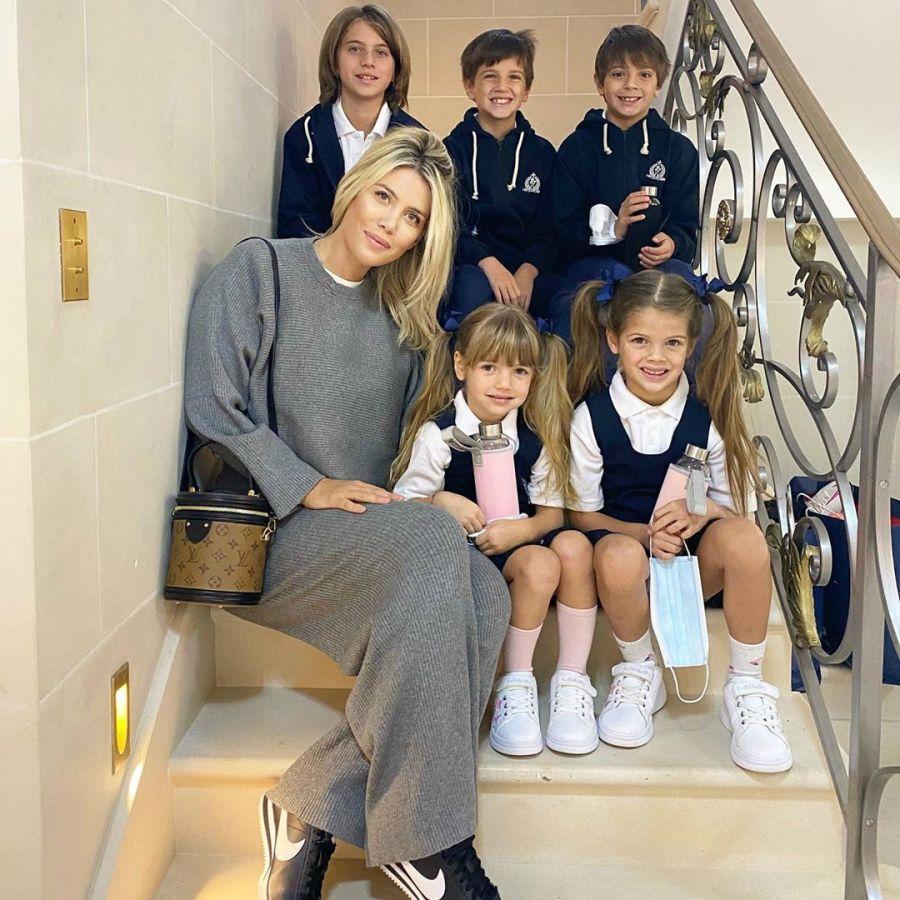 El orgullo de Wanda Nara por sus hijos en el cole