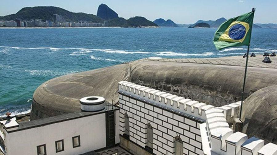 Fuerte de Copacabana donde anualmente se realiza la conferencia internacional de seguridad