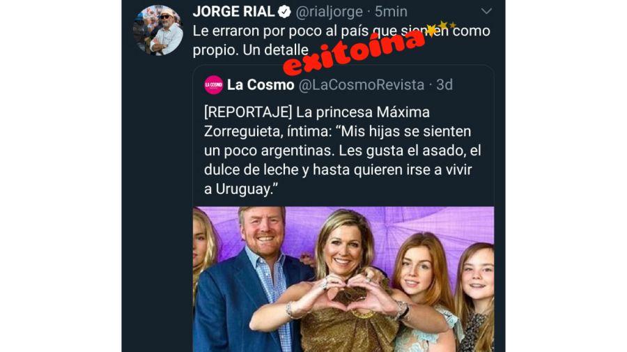 jorge rial maxima zorreguieta 0925