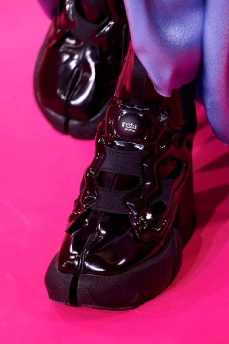 Las zapatillas feas de Margiela y Reebok