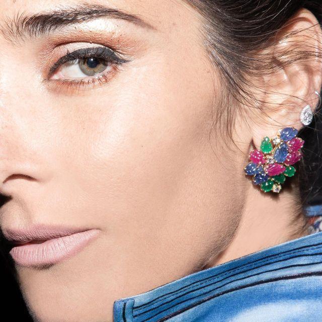 Mirá el look primaveral de Juana Viale para la mesaza del domingo