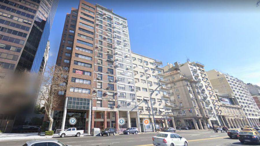 2020 09 28 Edificio Retiro Estudiante Brasileña