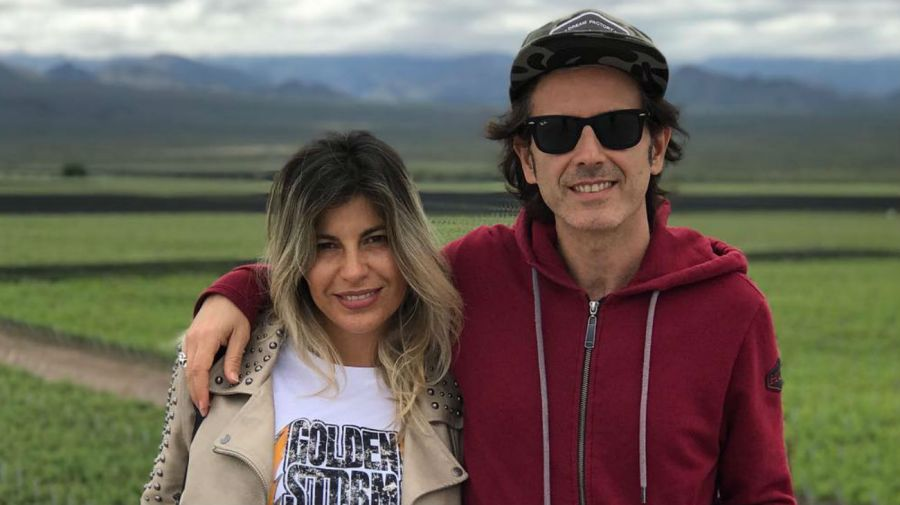 Coti Sorokin y Valeria Larrarte