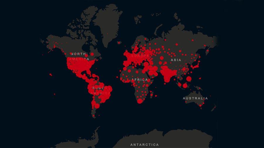 Graficos covid 19 en el mundo 20200928