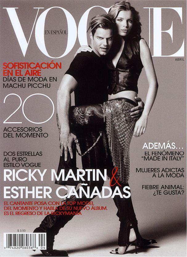 Ricky Martin y Esther Cañadas