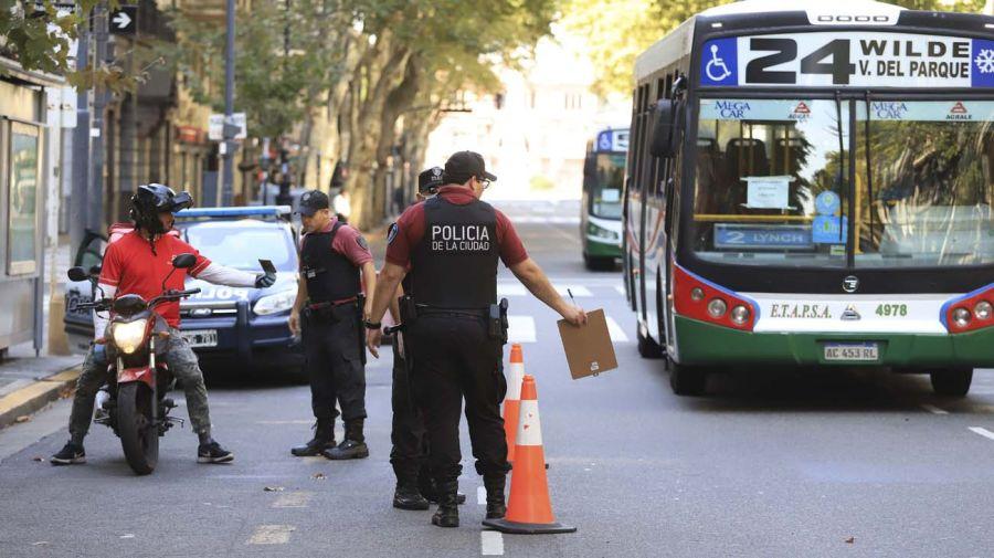 agentes de transito porteño 20200929
