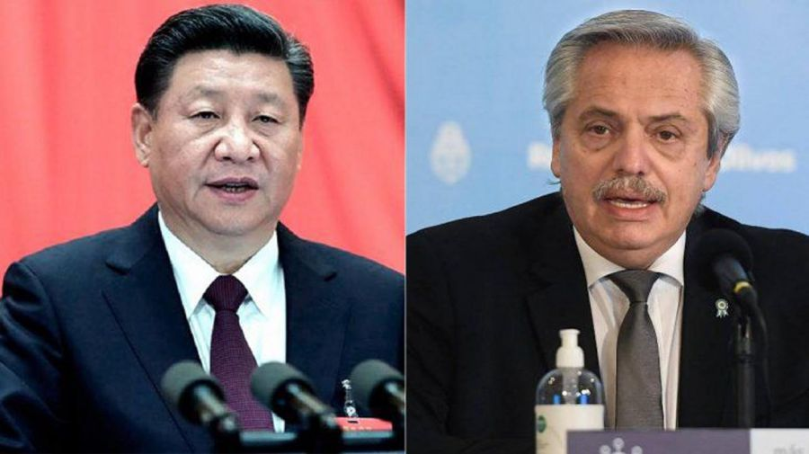 Alberto y Xi Jinping 20200929