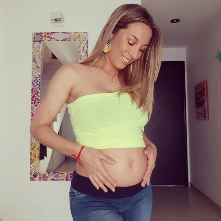 Barby Reali mostró su panza de 4 meses y medio