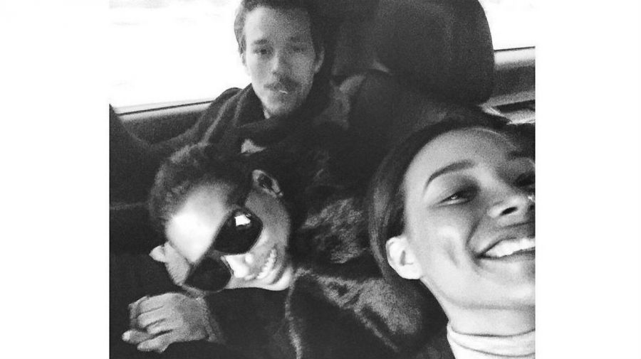 Nickayla Rivera, Naya Rivera y Ryan Dorsey
