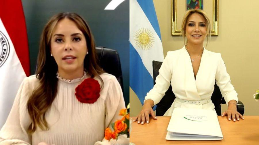 Fabiola Yáñez junto a las primeras damas de Latinoamérica