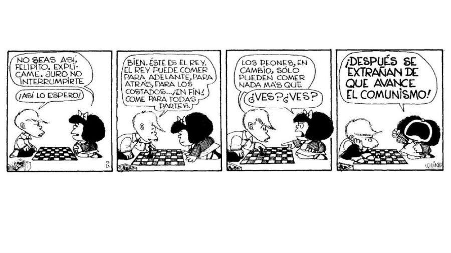 Mafalda Felipe y el comunismo