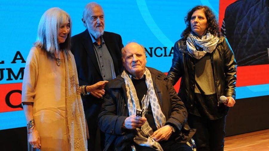 Quino recibió el Premio Perfil 2017