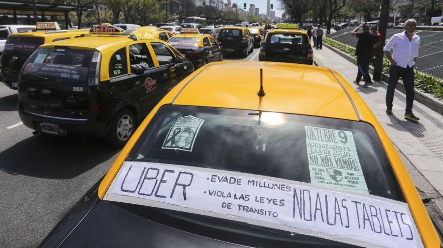 taxistas uber 20200930