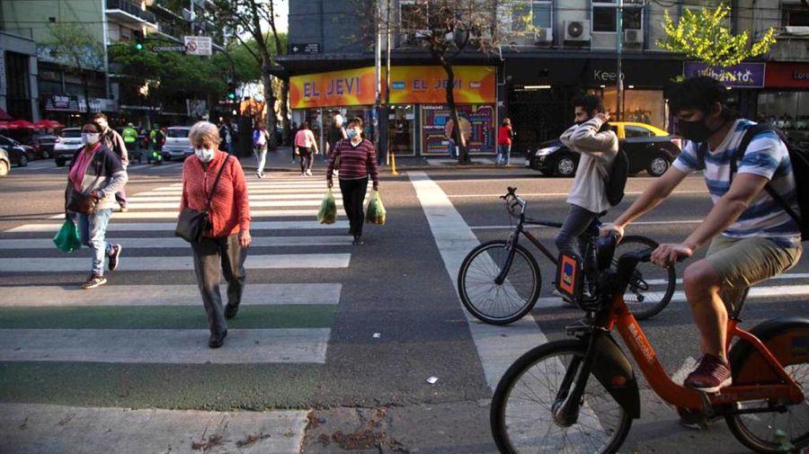 Ciclovía calle Corrientes 20201002
