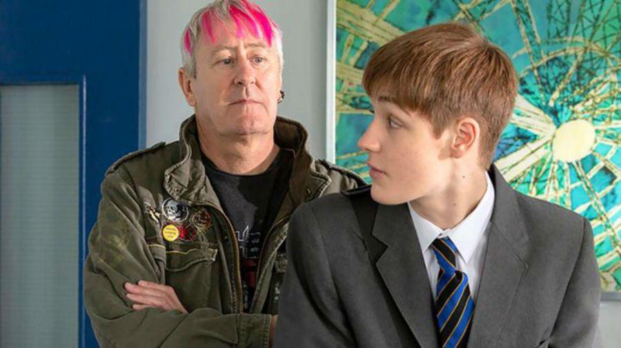 Nicholas y Archie Lyndhurst