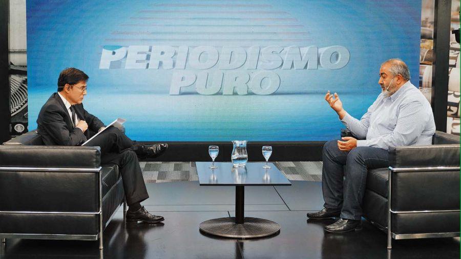 Héctor Daer, en la entrevista con jorge Fontevecchia.