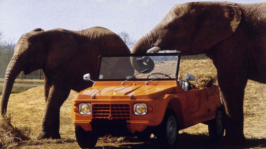 Citroën Méhari:la historia de un clásico que nació por un accidente