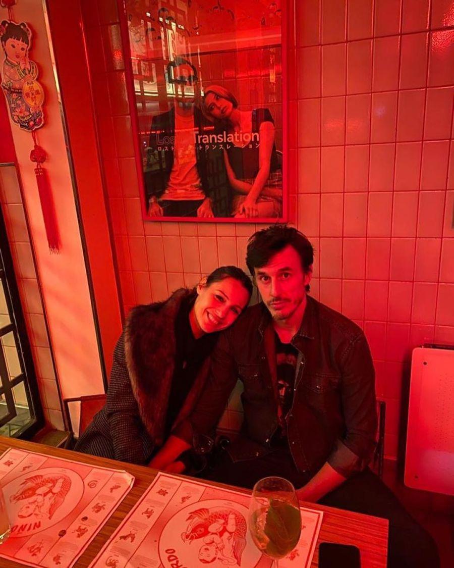 La salida romántica de Pampita y Roberto García Moritán
