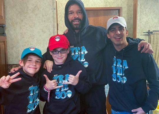 Los hijos de Ricky Martin tienen un ídolo artístico ¡Y no es su padre!