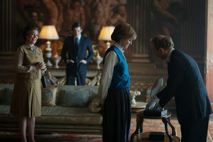 Emma Corrin como Lady Di en The Crown