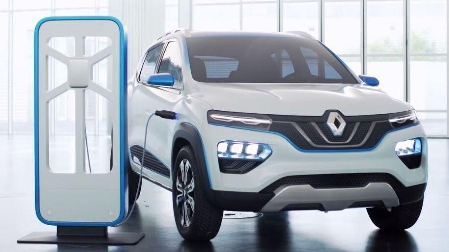 Primera imagen del nuevo SUV eléctrico de Renault