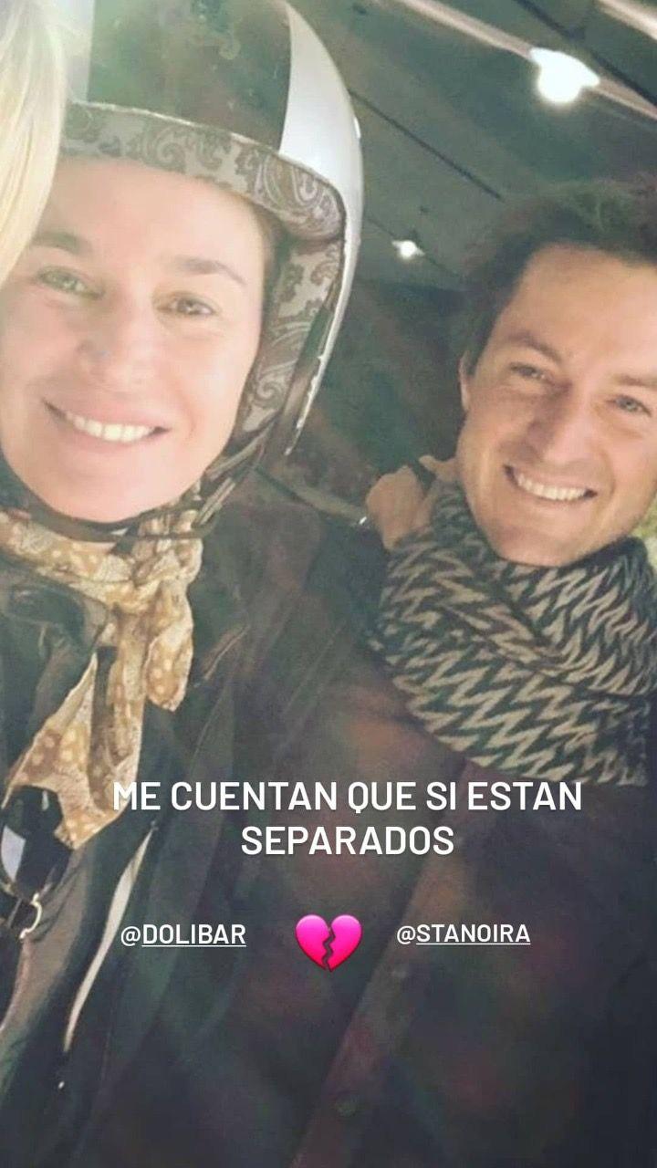 Dolores Barreiro se habría separado de Santiago Tanoira